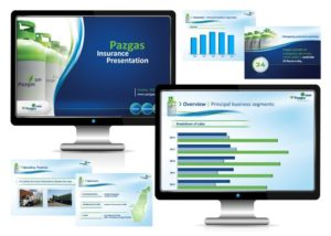 עיצוב מצגות עסקיות בשילוב גרפים וטבלאות